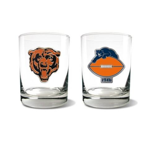 NFL Chicago Bears Rocks Glass Set - 2pc - image 1 of 1