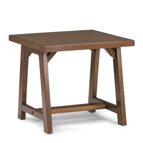 Simpli Home Sawhorse End Table - image 1 of 5
