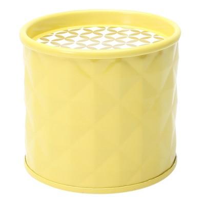 Geometric Shape Tin Candle Pineapple Splash 7.4oz - SOHO Brights