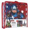 Marvel Avengers 9pc Floor Tile Foam Interlocking Fitness Mats - image 3 of 4