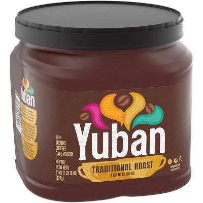 Yuban Traditional Medium Roast Premium Ground Coffee - 31oz