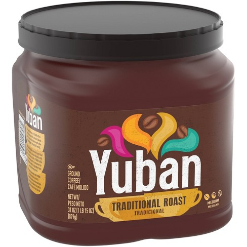 Yuban Traditional Medium Roast Premium Ground Coffee - 31oz - image 1 of 4