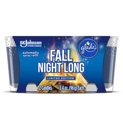 Glade Candle Fall Night Long - 2pk/3.4oz