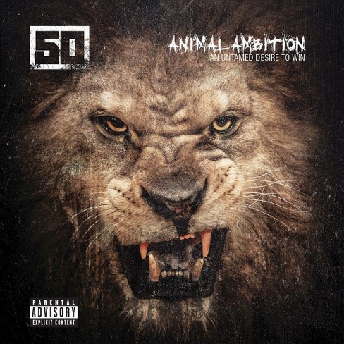 50 cent - Animal ambition:Untamed desire to win [Explicit Lyrics] (CD) - image 1 of 1