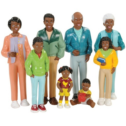 Creative Minds Family Play Set - African-American - image 1 of 4