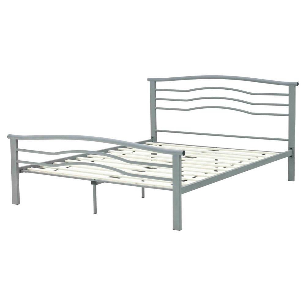 Image of Ada Metal Platform Bed Frame (Queen) - Eco Dream, White