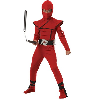 California Costumes Stealth Ninja Child Costume (Red/Black)