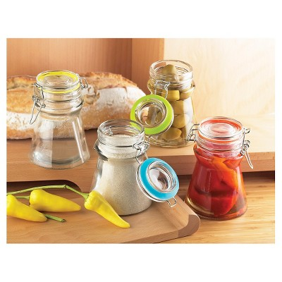 Global Amici Rainbow Flip Jars - Set of 4