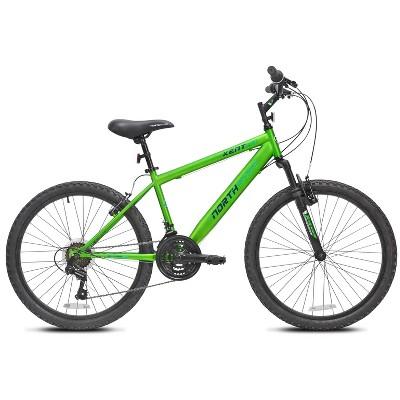 "Kent Northstar 24"" Kids' Mountain Bike - Green"