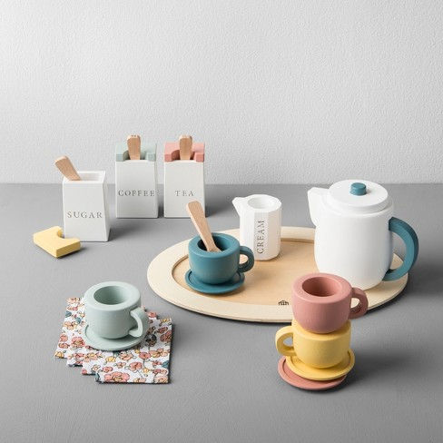 Wooden Toy Tea Set - Hearth & Hand™ with Magnolia - image 1 of 2