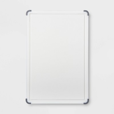 12 x18  Nonslip Poly Cutting and Carving Board White - Made By Design™