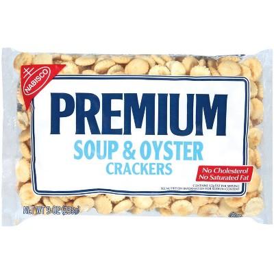Premium Soup & Oyster Crackers - 9oz