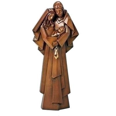 "Roman 11"" Brown Holy Family Christmas Nativity Tabletop Figurine"