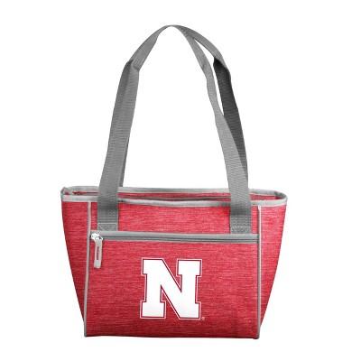 NCAA Nebraska Cornhuskers Logo Brands 16 Can Cooler Tote - 21.3qt