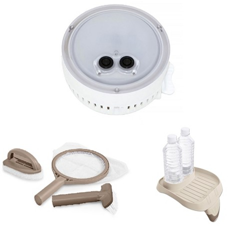 Intex PureSpa Multi-Colored LED Light, Maintenance Kit & Attachable Cup Holder - image 1 of 4