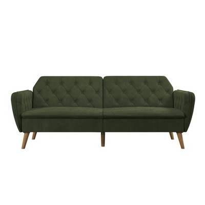 Tallulah Memory Foam Futon and Sofa Bed - Novogratz