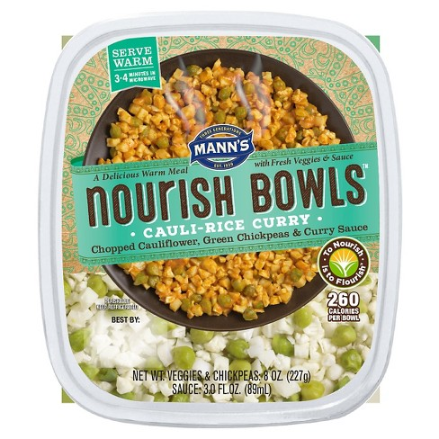 Mann's Nourish Bowl Cauli Rice Curry - 11oz - image 1 of 1