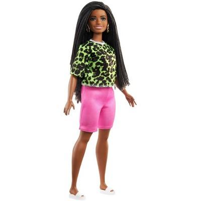 Barbie Fashionistas Doll - Neon Green Animal-Print Top