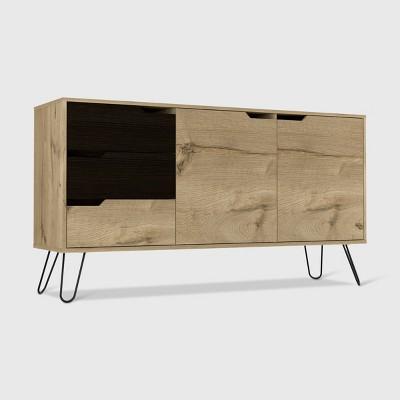 Aster 2 Door Sideboard Cabinet Light Wood - RST Brands
