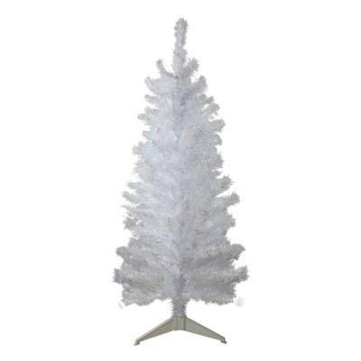 Northlight 4' White Iridescent Pine Artificial Christmas Tree - Unlit