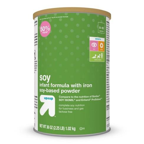 Infant Formula Soy with Iron Powder - 36oz - up & up™ - image 1 of 4
