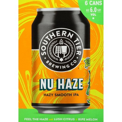 Southern Tier Nu Haze IPA Beer - 6pk/12 fl oz Cans