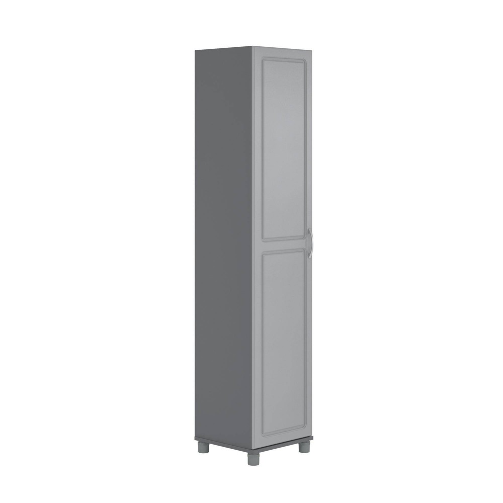 "Image of ""16"""" Boost Utility Storage Cabinet Ashen Gray - Room & Joy"""