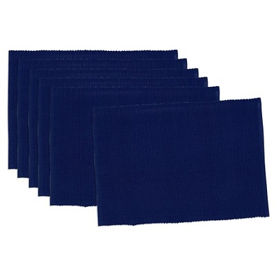 Blue Placemat (Set Of 6)- Design Imports