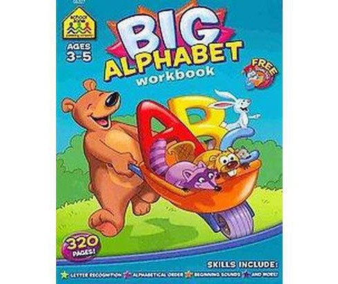 Big Alphabet Workbook (Paperback) (Barbara Gregorich) - image 1 of 1