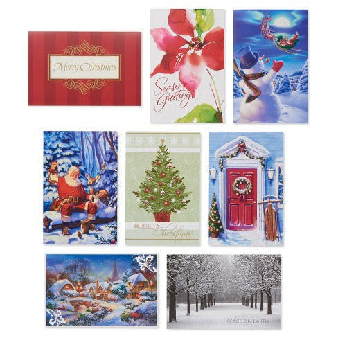 32ct american greetings traditional assortment holiday boxed cards - Target Photo Christmas Cards
