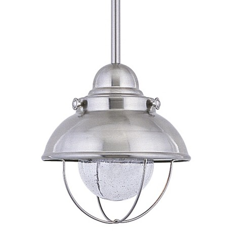 Generation Lighting Sebring 1 light Brushed Stainless Outdoor Fixture 615093S-98 - image 1 of 2