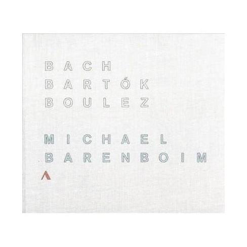 Michael Barenboim - Bach, Bartok & Boulez (CD) - image 1 of 1