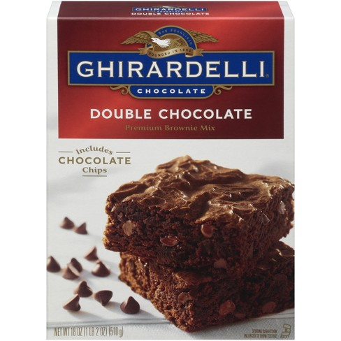 Ghirardelli Double Chocolate Brownie Mix - 18 oz. - image 1 of 4