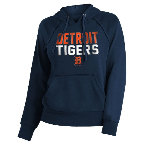 the latest d8ed1 09723 MLB Detroit Tigers Women's 7th Inning Stretch Hoodie