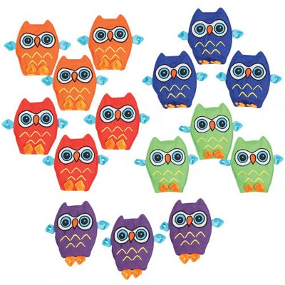 Kaplan Early Learning Crinkle Matching Owls