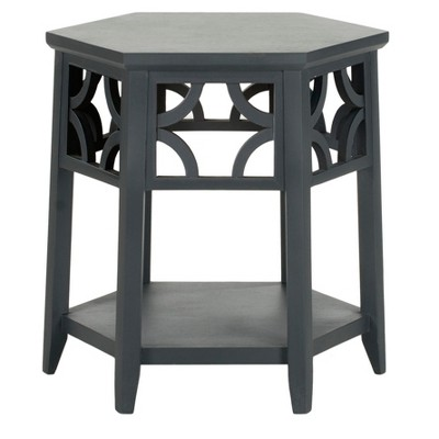 Connr Hexagon End Table   Safavieh®