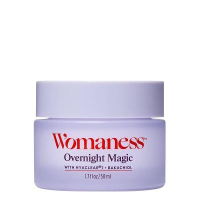 Womaness Overnight Magic Facial Treatment - 1.7oz