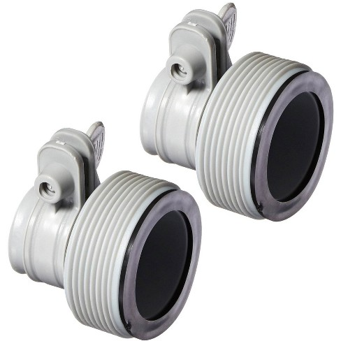 Intex Adapter B w/Collar (Pair) + 2500 GPH Filter + 6 Type B Replacement Filter - image 1 of 4