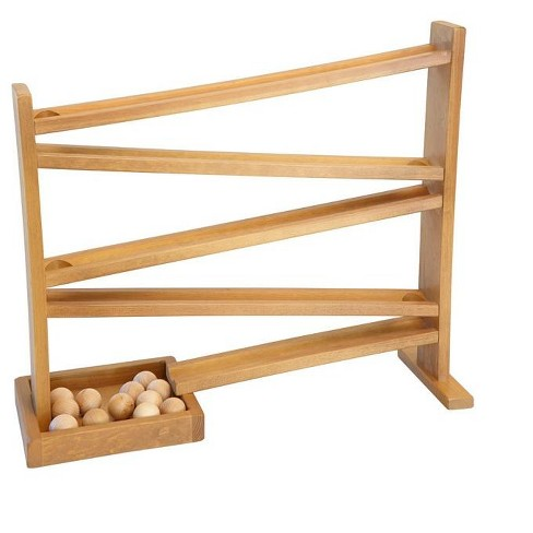 Remley Kids Wooden Ball Roller - Balls included, Harvest Finish - image 1 of 1