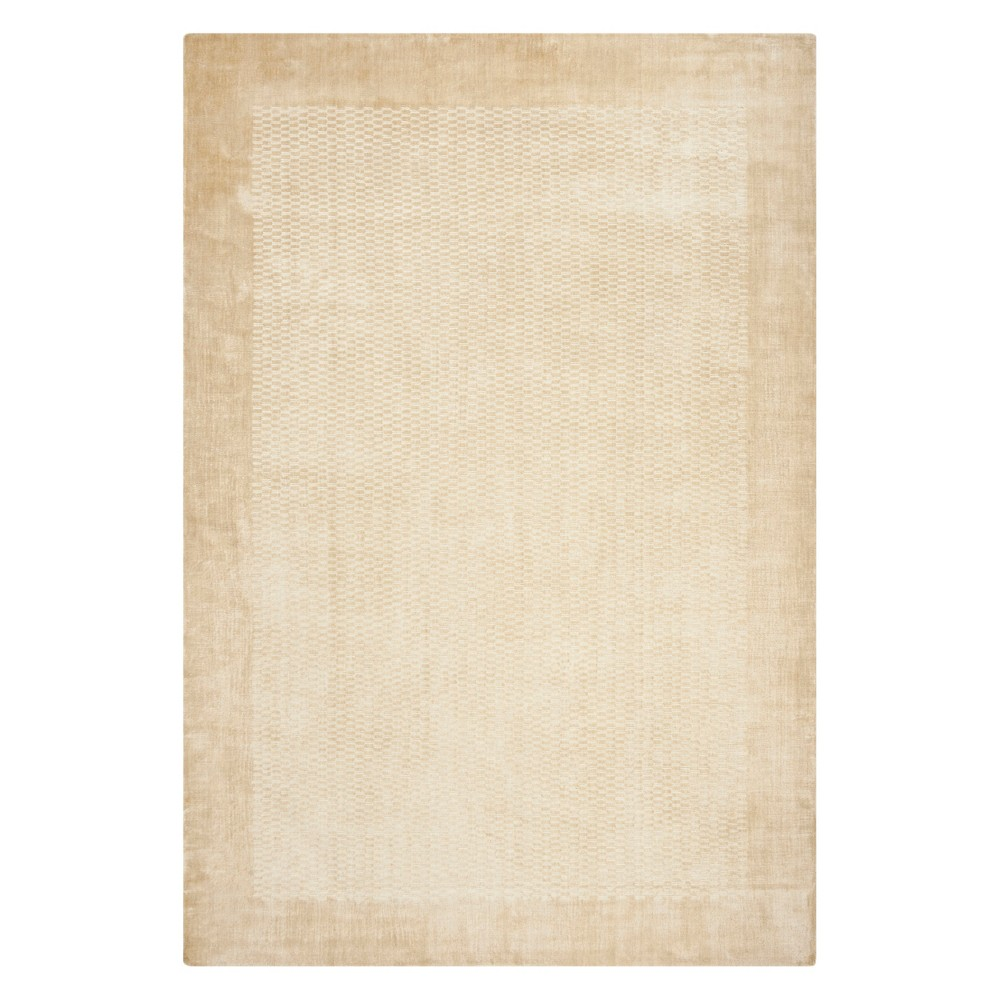 9'X12' Solid Area Rug Taupe (Brown) - Safavieh