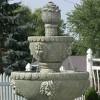 """53"""" Lion Head 4-Tier Outdoor Garden Water Fountain - Sunnydaze Decor - image 2 of 4"""