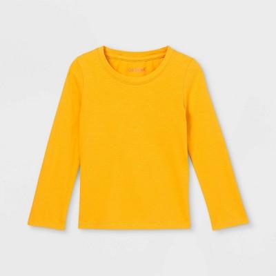Toddler Girls' Solid Long Sleeve T-Shirt - Cat & Jack™
