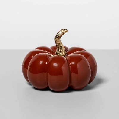 4  x 3.3  Cast Metal Pumpkin Orange - Opalhouse™