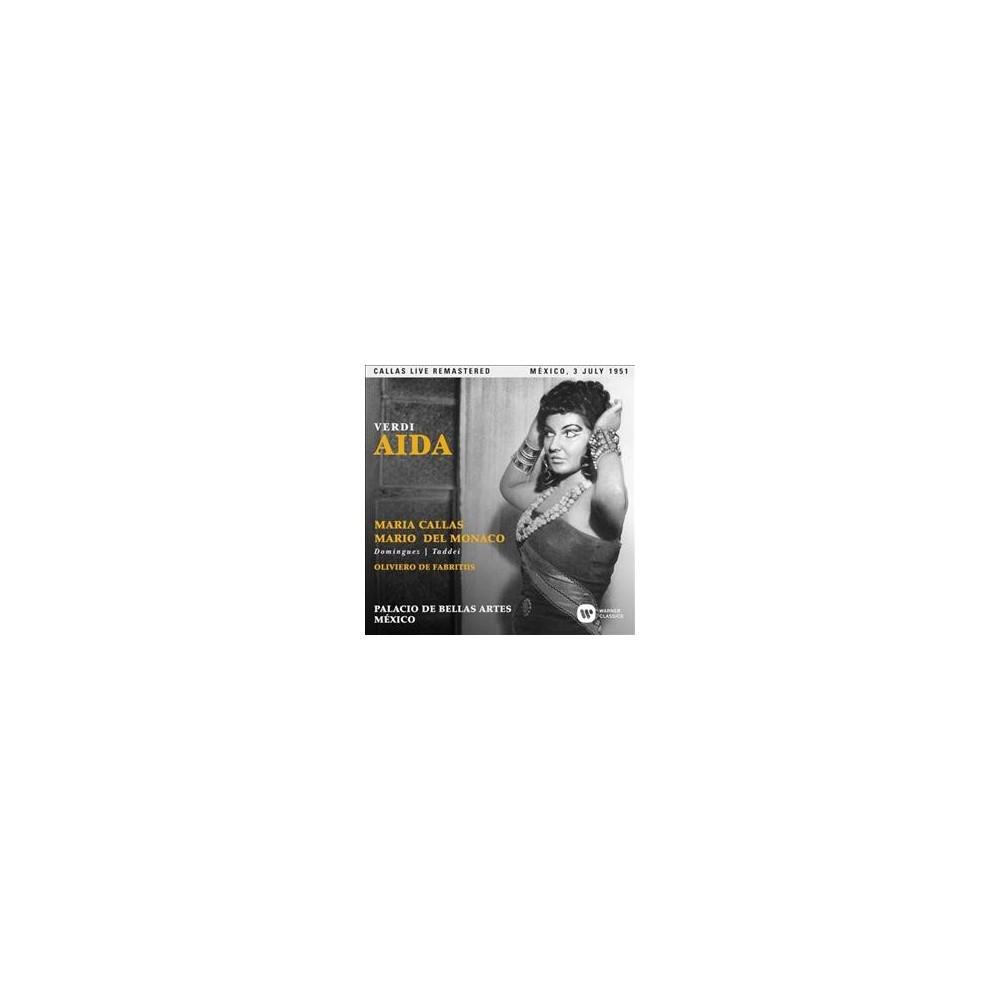 Maria Callas - Verdi:Aida (Mexico 03/07/1951) (CD)