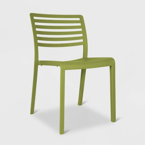 Lama 2pk Patio Chair Olive Green