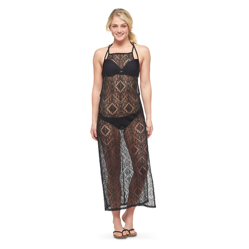 Women's Cover Up Dresses - Xhilaration Black L