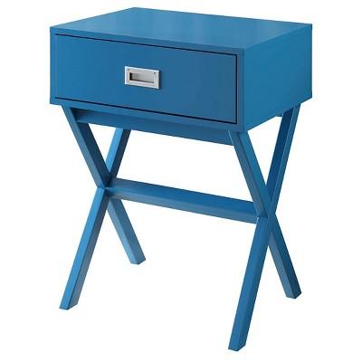 Designs2Go Landon End Table Blue - Johar Furniture
