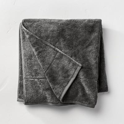 Modal Bath Sheet Dark Gray - Casaluna™