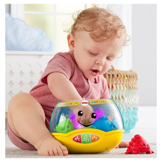 Fisher-Price Laugh and Learn Magical Lights Fishbowl image number null