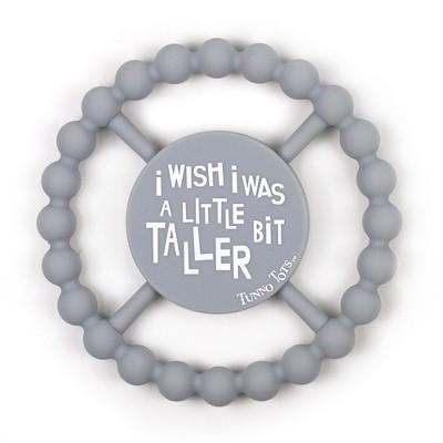 Tunno Tots I Wish I was Taller Teether - Platinum